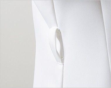 LW802 ローラアシュレイ 半袖ナースジャケット(女性用) ウエストループ付き