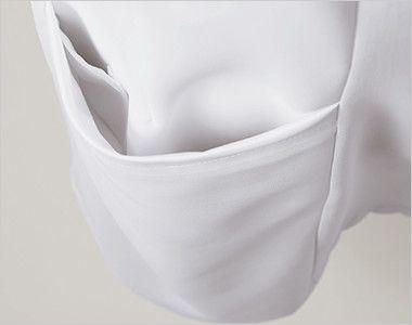 LW802 ローラアシュレイ 半袖ナースジャケット(女性用) 内ポケット付き