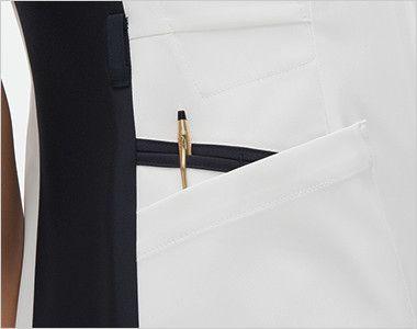 FT4442 ナガイレーベン(nagaileben) スクラブ(女性用) 収納力が豊富な多機能ポケット