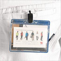 6116 TS DESIGNリップストップ 長袖ジャケット(男女兼用) ネームホルダーループ付