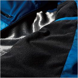 ジーベック 163 ディンプルストレッチ軽防寒ブルゾン(男女兼用) トリコット起毛でさらに保温性アップ