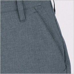 ジーベック 1819 [春夏用]カラーストレッチレディースパンツ(女性用) ポケット付き