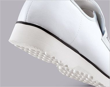 ジーベック 85660 めちゃ軽クック 厨房シューズ 靴底に軽量のEVA素材を使用し両足でも360gの超軽量厨房シューズです。