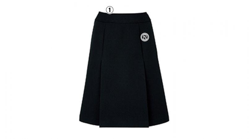 BONMAX AS2248 [通年]エターナル プリーツスカート 無地 商品詳細・こだわりPOINT