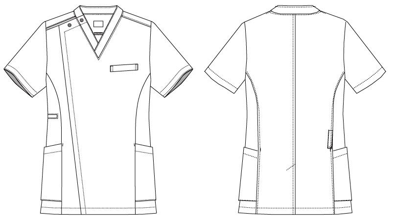 MK-0003 ミッシェルクラン(MICHEL KLEIN) ファスナースクラブ(男性用) ハンガーイラスト・線画