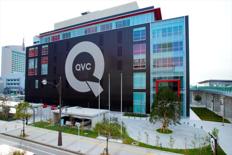 2013年にオープンしたQVCジャパンの社屋「QVCスクエア」