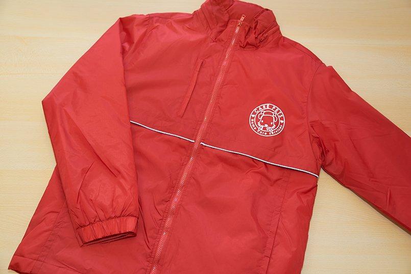 防寒ジャケットは冬のお散歩に大助かり