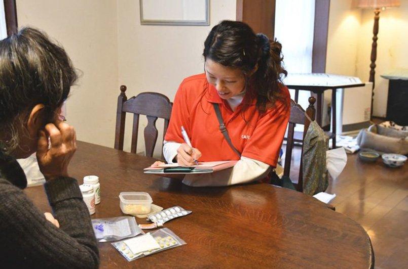 飲んでいる薬やご要望などについて、動物看護士がしっかりカウンセリング
